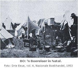Boere laer in Natal
