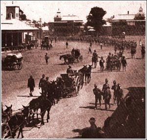 Britse Troepe Beset Bloemfontein