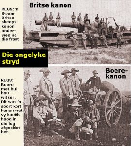 Britse en Boere Kanon