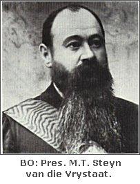 Pres M.T. Steyn van die Vrystaat