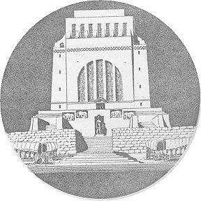 Tekening van die Voortrekker Monument
